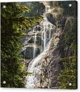 Scenic Of Shannon Fallsbritish Columbia Acrylic Print