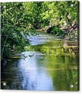 Scenic Sandusky River Acrylic Print