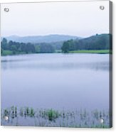 Scenic View Of A Lake, Bernheim Acrylic Print