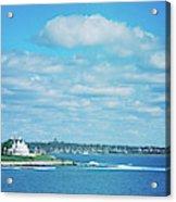 Scenic View Of Atlantic Ocean Acrylic Print
