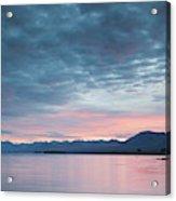 Scenic View Of Lake At Dusk, Lake Acrylic Print