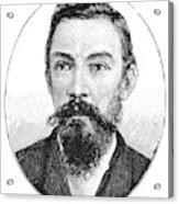 Schalk Willem Burger (1852-1918) Acrylic Print