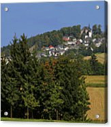 Schauenstein - A Typical Upper-franconian Town Acrylic Print