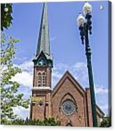 Schenectady Bell Tower Acrylic Print
