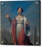 Schiavoni Natale, St Catherine, 1828 Acrylic Print by Everett