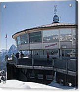 Schilthorn Acrylic Print by David Yack