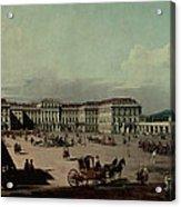 Schloss Schonbrunn, 1759-60 Oil On Canvas Acrylic Print