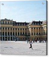 Schoenbrunn Palace In Vienna - Austria Acrylic Print
