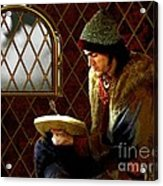 Scholar By Moonlight Acrylic Print