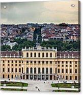 Schonbrunn Windows Acrylic Print by Viacheslav Savitskiy