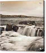 Schoodic Point Acadia National Park Acrylic Print