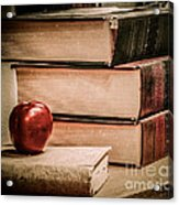 School Books Acrylic Print