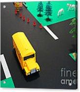 School Bus School Acrylic Print