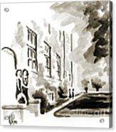 School Days At Ursuline II Acrylic Print by Kip DeVore