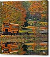 School Days Of Autumn Acrylic Print