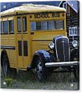 School Days Acrylic Print by Steven Parker