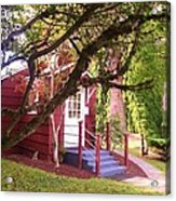 School House Acrylic Print by Donald Torgerson