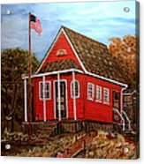 School House Acrylic Print
