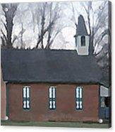 Schoolhouse Acrylic Print