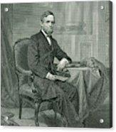 Schuyler Colfax  American Statesman Acrylic Print