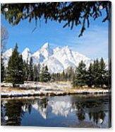 Schwabacher Landing - Grand Teton National Park Acrylic Print