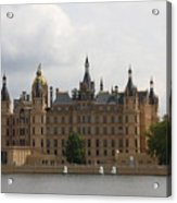 Schwerin Castle Front Aspect Acrylic Print