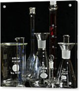 Science Lab Chemistry Acrylic Print