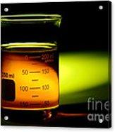 Scientific Beaker In Science Research Lab Acrylic Print