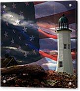 Scituate Strong Protecting American Shoreline Acrylic Print