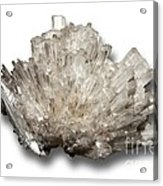 Scolecite Mineral Acrylic Print