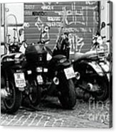 Scooter Plates Acrylic Print