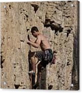 Scorched Earth Climbing 1 Acrylic Print
