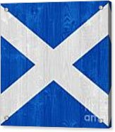 Scotland Flag Acrylic Print