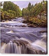 Scotland's Falls Of Dochart - Killin Scotland Acrylic Print
