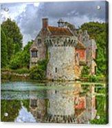 Scotney Castle Reflections Acrylic Print
