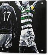 Scott Brown - Celtic Fc Acrylic Print