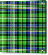 Scott Tartan Variant Acrylic Print by Gregory Scott