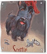Scottie's Beaming Acrylic Print by Shawn Shea
