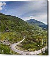 Scottish Highlands Landscape Acrylic Print