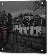Scottish Inn Acrylic Print