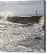 Scottish Sea Storm Acrylic Print