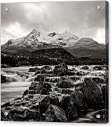 Scottish Skies Acrylic Print