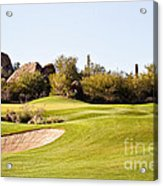Scottsdale Golf Acrylic Print