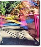 Scrambler Blur Acrylic Print