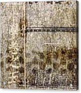 Scratched Metal And Old Books Number 1 Acrylic Print