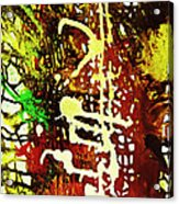 Scrawled Acrylic Print