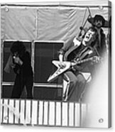 Screaming Guitsr Of J. Geils 1976 Acrylic Print