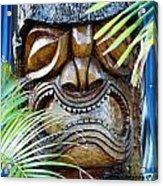 Screaming Tiki  Acrylic Print
