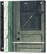 Screen Door Acrylic Print