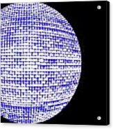 Screen Orb-09 Acrylic Print